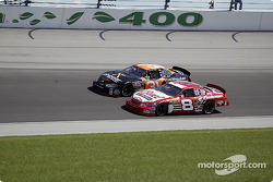 Dale Earnhardt Jr. and Robby Gordon