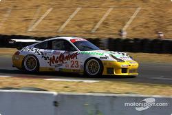 #23 Alex Job Racing Porsche 911 GT3 RS: Lucas Luhr, Sascha Maassen