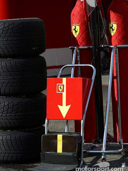 Ferrari pit equipment