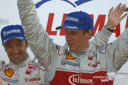 Overall and LMP900 podium: race winners Frank Biela and Marco Werner