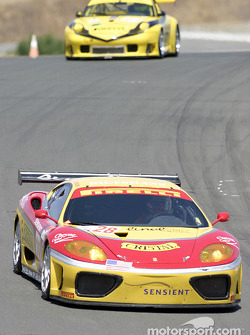 #28 JMB Racing USA/Team Ferrari Ferrari 360 Modena: Stephan Gregoire, Eliseo Salazar