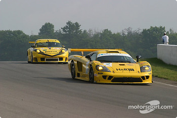 #2 Konrad Motorsport Saleen S7R: Franz Konrad, Mark Neuhaus