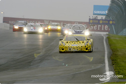 #8 g & W Motorsport into turn one