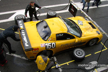 Pitstop for the Corvette C5