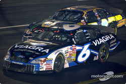 Mark Martin and Michael Waltrip