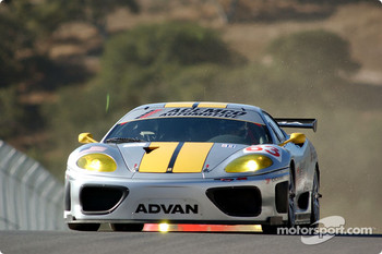 #63 ACEMCO Motorsports Ferrari 360 Modena: Shane Lewis, Terry Borcheller