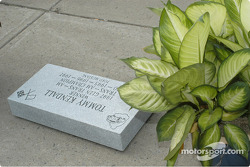 The stone for Tommy Kendall