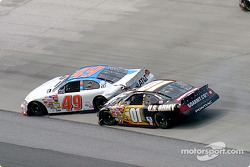 Mike Skinner and Ken Schrader collide
