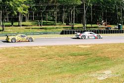 #59 Brumos Racing Porsche Fabcar: Hurley Haywood, J.C. France, and #8 G&W Motorsports BMW Picchio DP2: Darren Law, Patrick Huisman