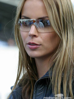 Kimi Raikkonen's girlfriend Jenni