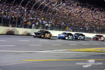Matt Kenseth, Jimmy Spencer and Mark Martin