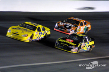 Dave Blaney, Jamie McMurray and Elliott Sadler