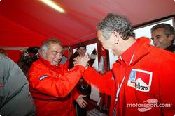 Corrado Provera celebrates