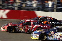Kurt Busch, Jeff Green and Robby Gordon