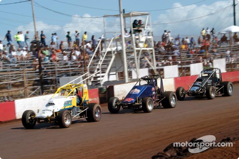 Dean Freitas leads Rick Ziehl and Brandon Lane