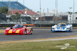 85 Argo JM19C, GTP4 and 84 Porsche 956 GTP2