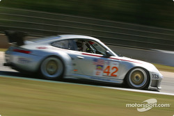 #42 Orbit Racing Porsche 911 GT3RS: Randy Pobst, Jay Policastro, Joe Policastro