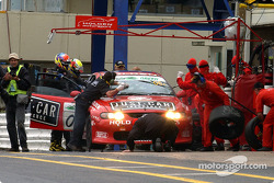 Pitstop for #05 Garry Rogers Motorsport Holden Monaro CV8: Peter Brock, Greg Murphy, Jason Bright, Todd Kelly