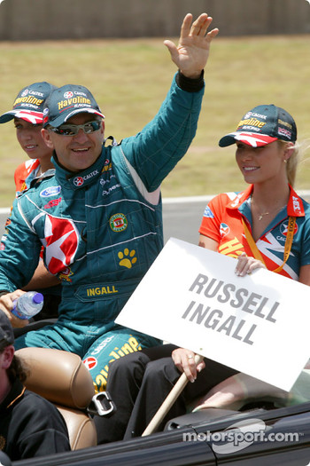 Drivers presentation: Russell Ingall