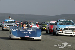 The starting grid takes shape