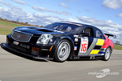 Max Angelelli tests the Cadillac CTS-V