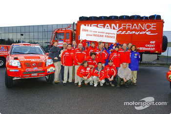 Nissan Dessoude team