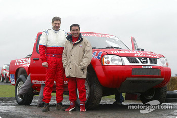 Nissan Dessoude test: Kenjiro Shinozuka and Arnaud Debron