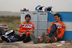 Nani Roma and Marc Coma