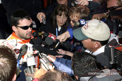 Tony Stewart meets the press