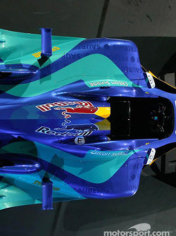 Detail of the new Sauber Petronas C23