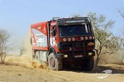 Team ENEOS Mitsubishi service truck