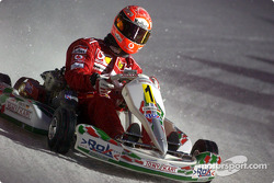 Kart race: Michael Schumacher