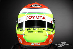 Ryan Briscoe's helmet