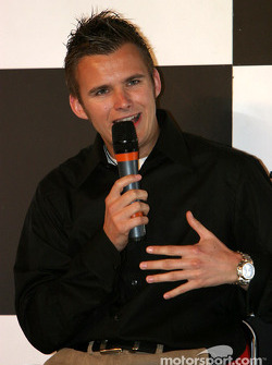 Dan Wheldon interview on Autosport Stage
