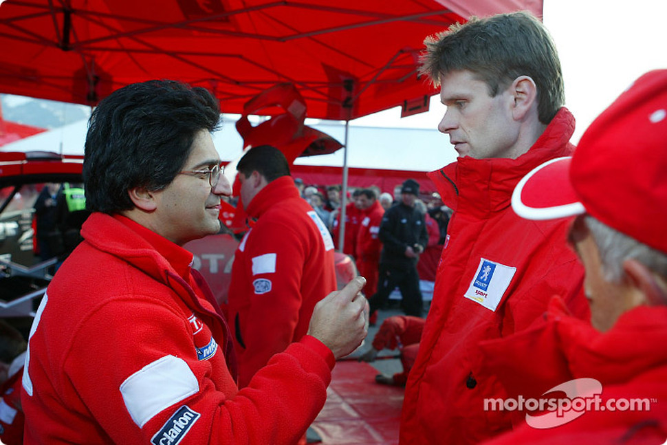 Michel Nandan and Marcus Gronholm