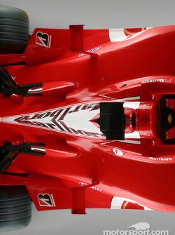 Detail of the new Ferrari F2004