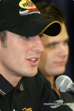 Young guns press conference: Tomas Scheckter