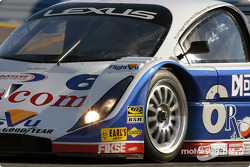 #6 Michael Shank Racing Lexus Doran: Brent Martini, Cort Wagner, Mike Newton, Thomas Erdon