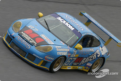 #67 The Racers Group Porsche GT3 RS: Pierre Ehret, Jim Matthews, Lars Nielsen, Robert Nearm