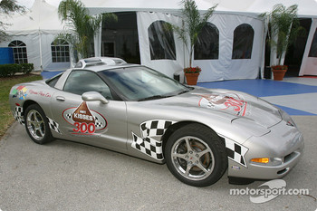 Pace car for the Hershey's Kisses 300 Busch race