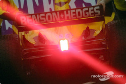 Timo Glock's red light