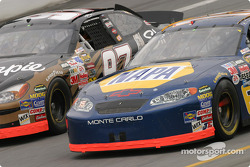 Kurt Busch and Michael Waltrip