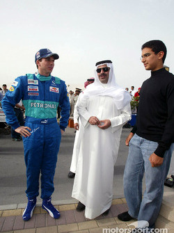 Neel Jani with fans
