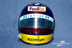 Photoshoot: Juan Pablo Montoya's helmet