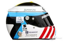 Photoshoot: Bas Leinders' helmet