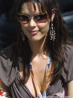 Jenson Button's girlfriend Louise