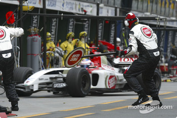 Pitstop for Jenson Button