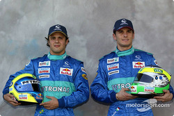 Photoshoot: Felipe Massa and Giancarlo Fisichella