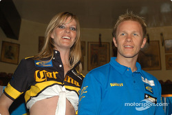 Subaru media event: Petter Solberg in charming company