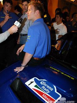 Subaru media event: Petter Solberg